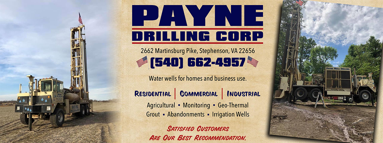 Well Drilling in Winchester Virginia